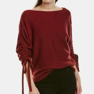 NWT JOIE Red Cashmere Blend Dannee Sweater